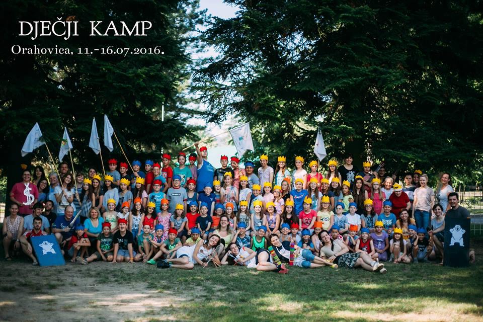 Zajednička fotografija Dječji kamp